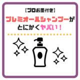 【潤いチャージでツヤツヤ】ラサーナプレミオールシャンプーを実際に使ってみた感想!